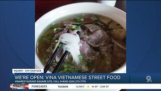 Vina Vietnamese Street Food offers takeout