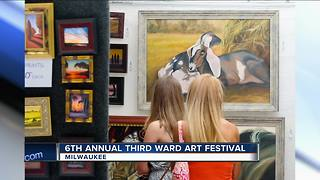 Third Ward Art Festival returns for 6th year - Video