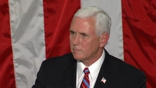 Vice president Mike Pence promotes tax reform plan - Video
