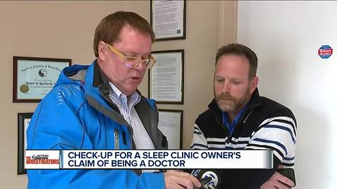 Metro Detroit sleep clinic owner claimed to be a doctor, changed his website after questions