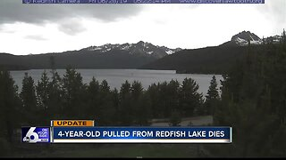 Young girl dies after being pulled from Redfish Lake