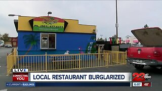 Break-In At Local Restaurant
