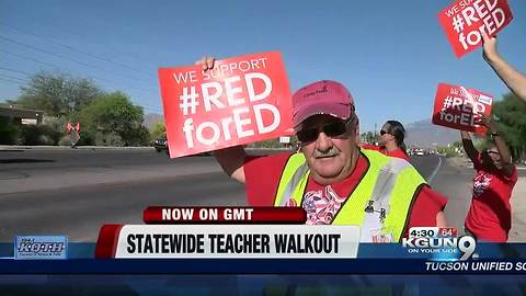 Good Morning Tucson - Day 1 of a statewide teacher walkout