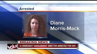 IU emergency management director accused of OWI - Video