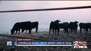 Ranchers explain controlled burns from Osage County