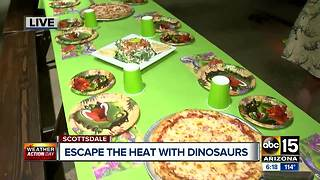 Dinosaur fun for whole family in Scottsdale - Video