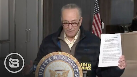 "Schumer Announces ""Biden Rescue Plan"" For NYC as Internet Mocks Him"