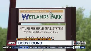 Body found at Wetlands Park - Video