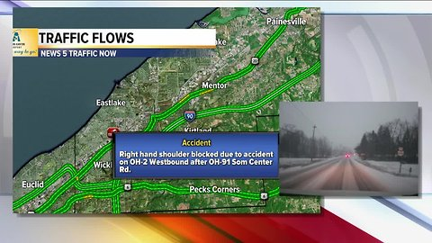 Jon Rudder gives update at 7 a.m. on current road conditions