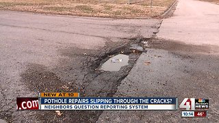 KCMO resident: pothole requests slipping through the cracks