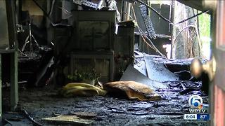 Fire damages church in Okeechobee county - Video