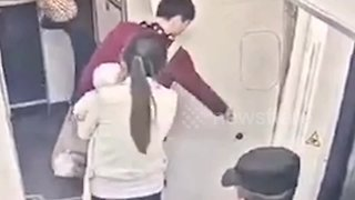 Chinese dad arrested after throwing 'lucky coins' at plane