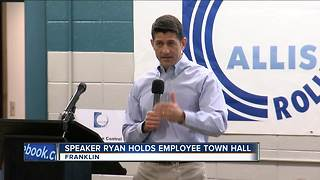 Speaker Ryan holds employee town halls - Video