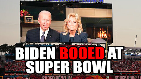 Joe Biden BOOED at Super Bowl LV