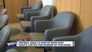 Mother: Lawyer fell asleep during trial of people accused of killing her sons - Video