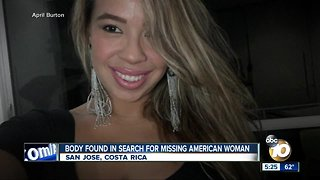 Body found in search for missing woman - Video