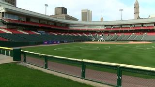 Coca-Cola Field becomes golf course - Video