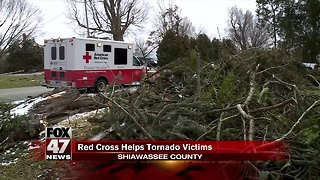 Red Cross continues to help those impacted by tornadoes