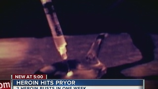 Pryor Police: Black tar heroin a growing problem - Video