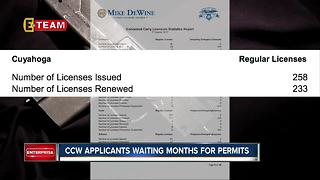 CCW applicants in Cuyahoga County waiting months for permits - Video