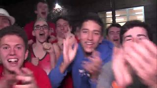 VIDEO: Roncalli High School gets pumped for game against Franklin Central - Video