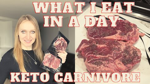 Full Day of Eating on Keto Carnivore Diet | Eat Paleo-Ketogenic with Me