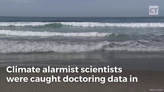 Climate Alarmists Data Doctoring Caught - Video