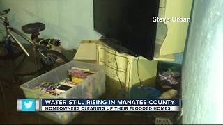 Water still rising in Manatee Co. - Video