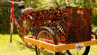 DIY WOW - Bicycle Trailer