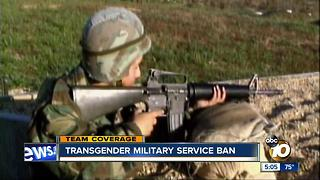 Transgender Military Service Ban - Video