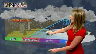 Maryland's Most Accurate Forecast - Rain Arrives Overnight - Video