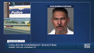 Man arrested after shooting, killing one & injuring other in W. Phoenix