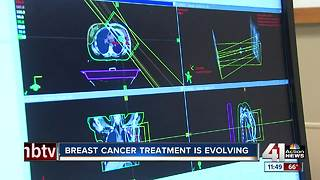 Breast cancer treatment is evolving