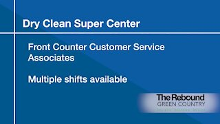 Who's Hiring: Dry Clean Super Center