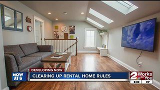 Clearing up rental home rules