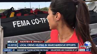 Colorado Task Force One crews help in Hurricane Harvey relief efforts - Video
