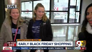 Early Black Friday shopping - Video