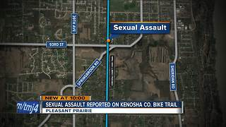 Second sexual assault reported on Kenosha County Bike Trail - Video