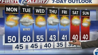 7 First Alert Forecast for November 28th Morning - Video