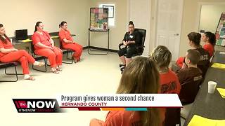Program gives woman a second chance