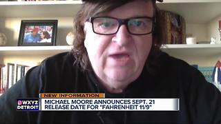 Director Michael Moore announces released date for Fahrenheit 11/9 - Video