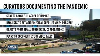 Smithsonian collecting items to document impact of COVID-19