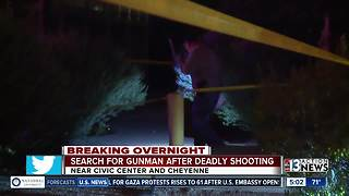 24-year-old man killed near Civic Center and Cheyenne - Video