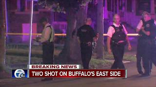 Buffalo Police investigate double shooting - Video