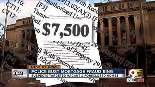 Police bust mortgage fraud ring