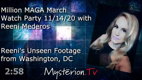 Million MAGA March with Reeni Mederos