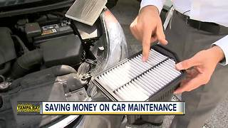 How to save money on car maintenance - Video