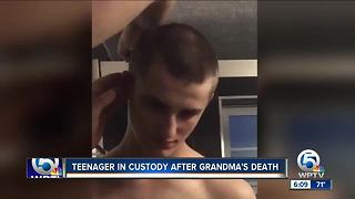 Teenager in custody after grandma's death - Video