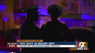 PD: 12-year-old girl, teen boy shot in Mount Airy - Video