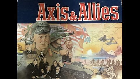 Axis and Allies game time lapse